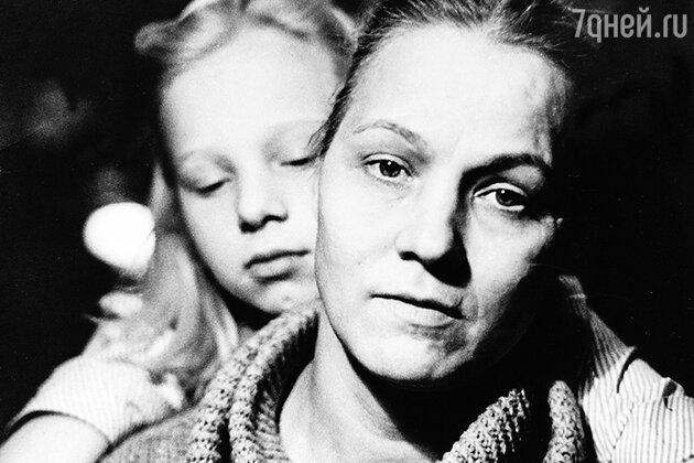 Нина Русланова с дочкой