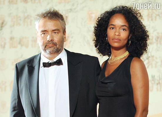 С женой Виржини Силла