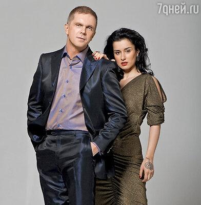 Ведущие шоу - Тина Канделаки и Андрей Колесников