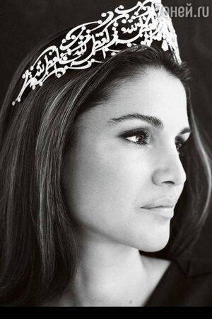 Королева-полковник Рания Аль Абдулла
