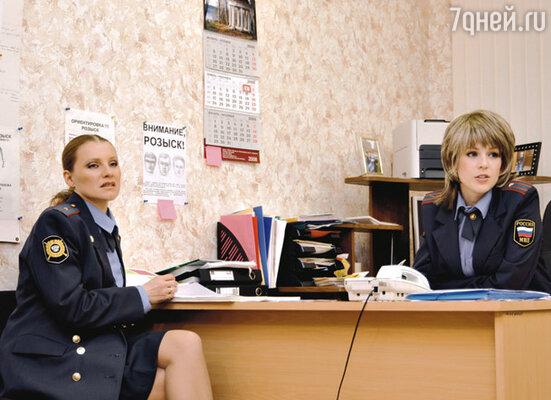 С Ириной Медведевой в скетч-шоу «6 кадров»