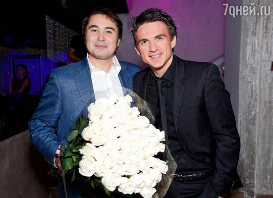 Арман Давлетяров и Влад Топалов