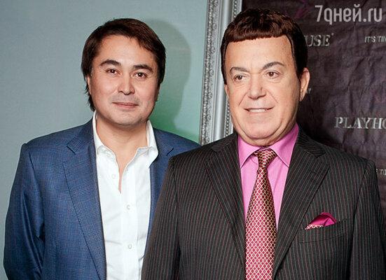 Арман Давлетяров  и Иосиф Кобзон