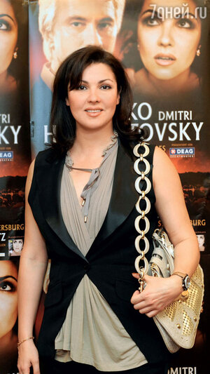 Анна Нетребко на концерте в Мюнхене. 2009 г.