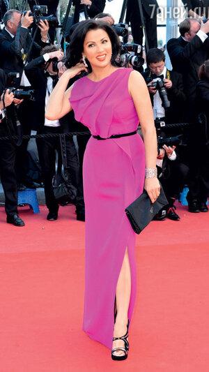 Анна Нетребко на 66-м Каннском кинофестивале. 2013 г.