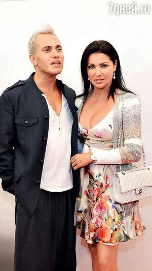 Анна Нетребко с Эрвином Шроттом. 2011 г.