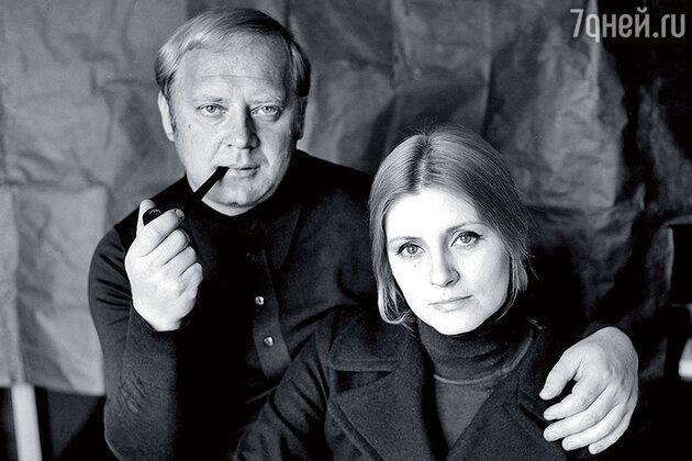 Юрий Визбор и Евгения Уралова