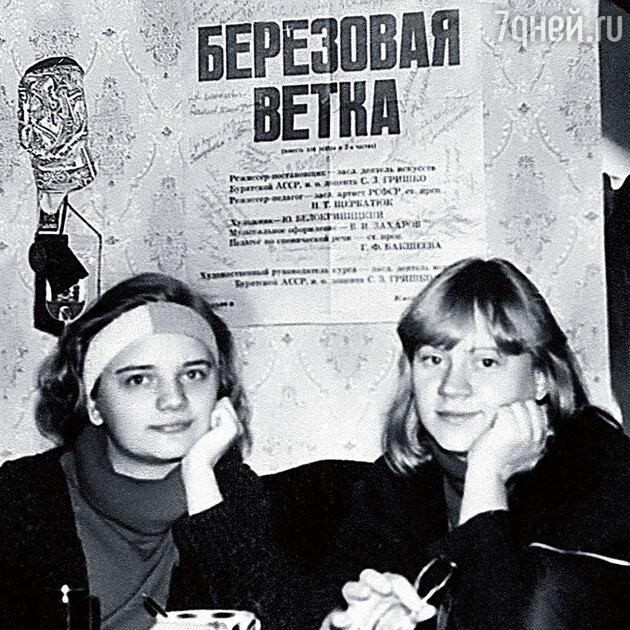 Татьяна Визбор с сестрой Аней