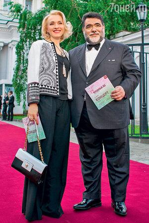 Екатерина Моисеева с Михаилом Куснировичем