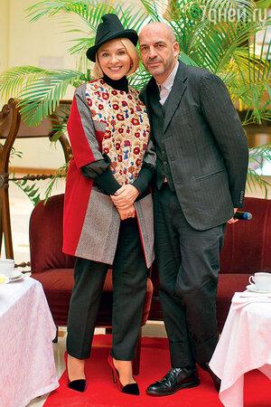 Екатерина Моисеева с дизайнером Антонио Маррасом