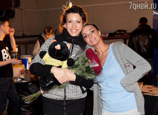 Екатерина Варнава и Лена Борщева