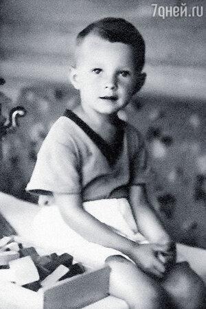 Николай Бурляев в детстве