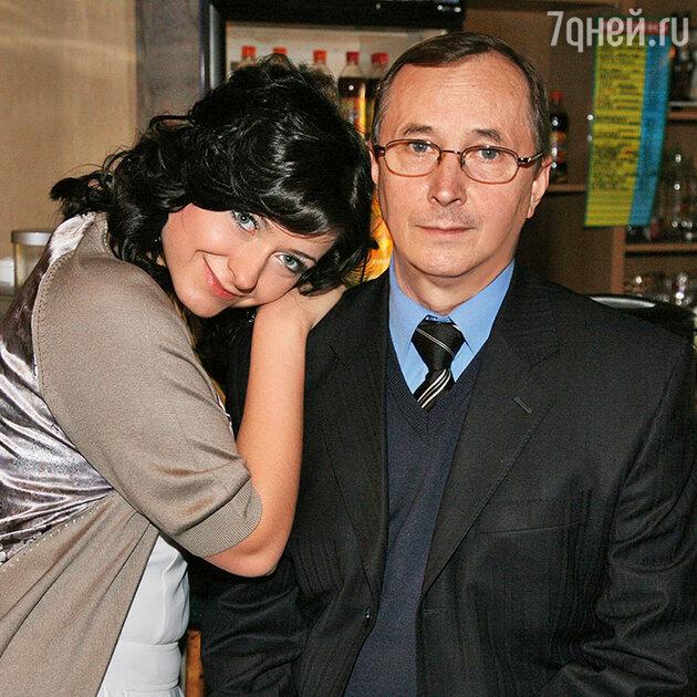 Николай Бурляев с дочерью