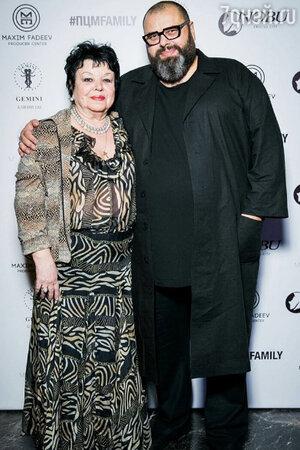 Максим Фадеев с мамой Светланой Петровной