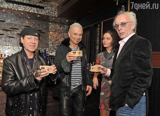 Участники группы «The Scorpions»