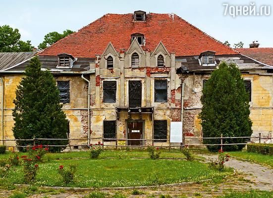 Замок в Штайпорте, родовое гнездо семьи Лендорф, 2008 год