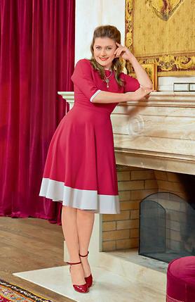 Мария Голубкина.  Платье Anna Ivanova