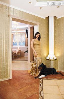 Новый 2009 год Анна отпразднует в новой квартире, ремонт которой длился почти год: «Теперь я счастлива, что живу в доме своей мечты»