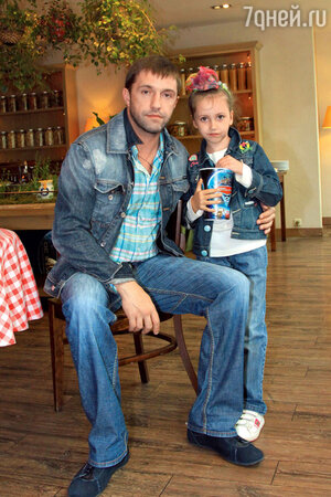 Владимир с дочкой Вероникой. 2011 год