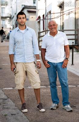 С Владимиром Познером вовремя совместного путешествия по Франции. 2009 г.