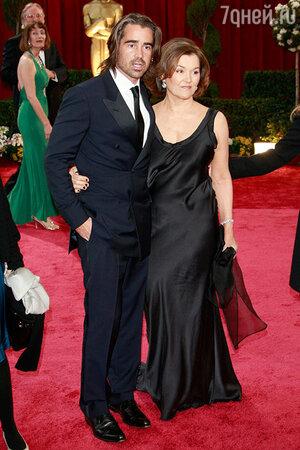 Колин Фаррелл с женой