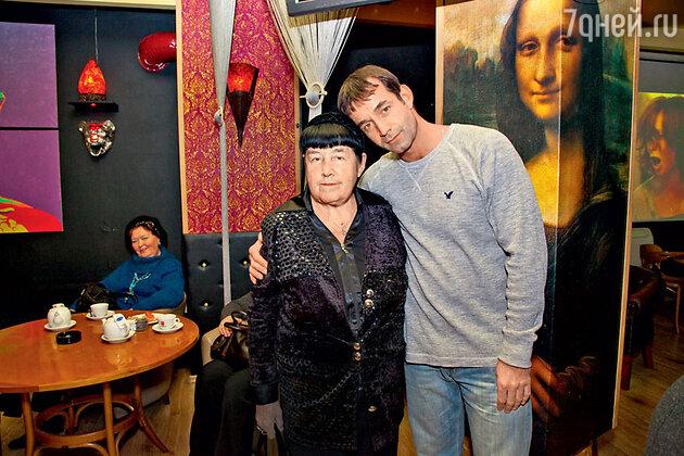 Дмитрий Певцов с мамой Ноэми Семеновной