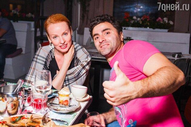 Жанна Эппле и Гурам Баблишвили