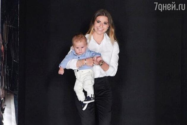 Галина Юдашкина с сыном Анатолием