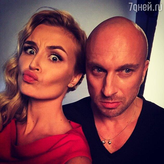 Полина Гагарина и Дмитрий Нагиев