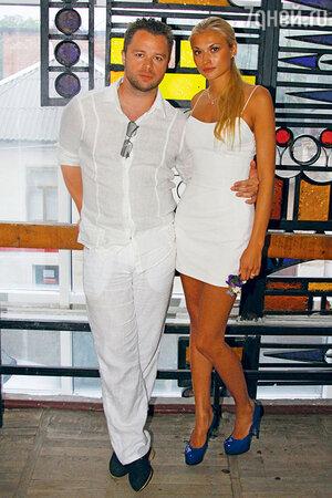 Виталий Гогунский с женой