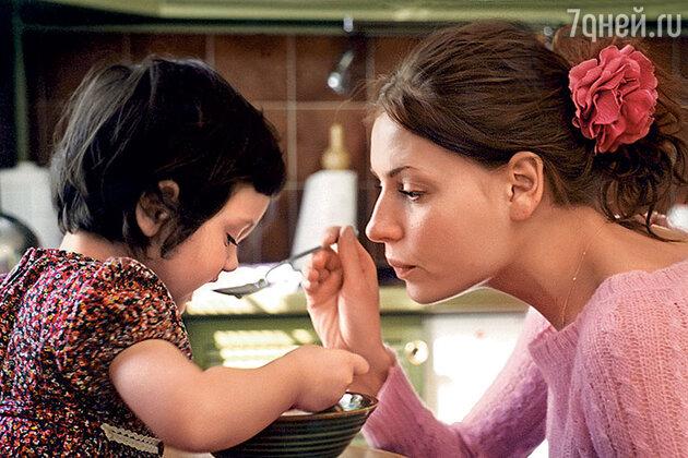 Любовь Толкалина c дочерью Машей