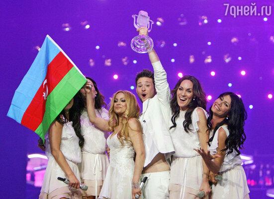 Победу Азербайджану принес дуэт Элл и Никки. Их песня «Running Scared» понравилась и зрителям, и жюри