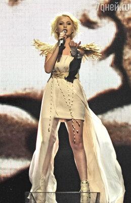 Украинская певица Мики Ньютон стала четвертой