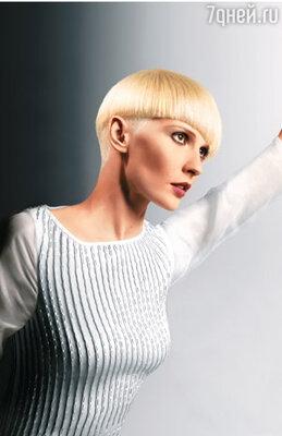 Цвет «платиновый блонд» и четкие стрижки — главные отличия стиля «Utopia»
