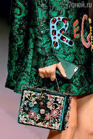 Сказочные сумки-коробки от «Dolce&Gabbana»