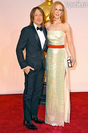 Николь Кидман с мужем