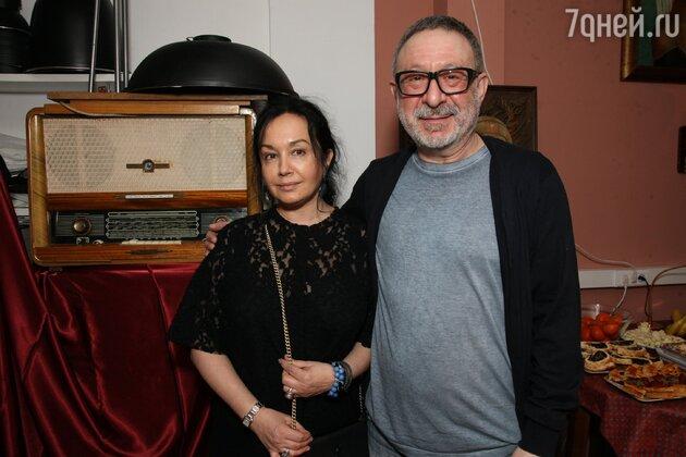 Евгений Маргулис с женой Анной