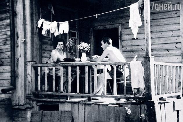 Петр Глебов и Мария Левицкая