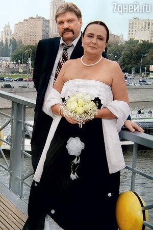 Ольга Глебова с мужем Николаем