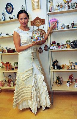 После каждого концерта у Марины Хлебниковой увеличивается коллекция мягких игрушек