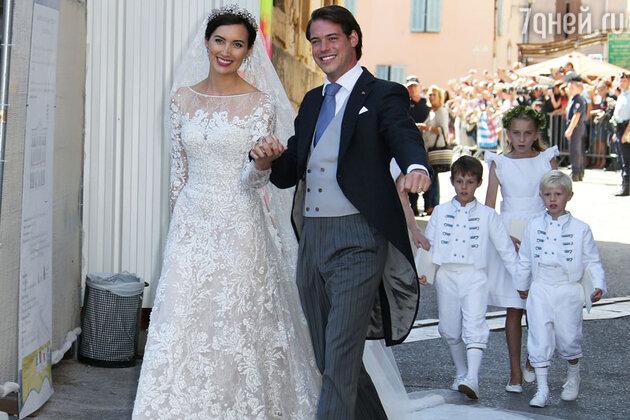 Свадьба принца Люксембурга Феликса и принцессы Клэр
