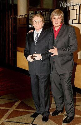 Олег Александрович с сыном Сашей