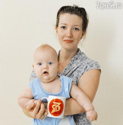 Читательница Rosik с сыном Мишей