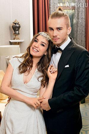 Вика Дайнеко с мужем Дмитрием Клейманом