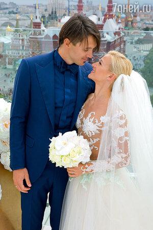 Максим Траньков с  женой Татьяной Волосожар