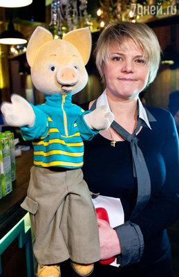 Главный светский персонаж и любимый детский герой  всех российских малышей – Хрюша из телепередачи «Спокойной ночи, малыши!» отметил свой юбилей