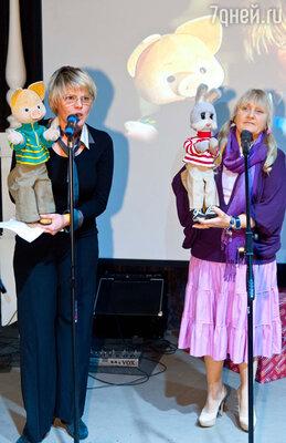 Оксана Чебанюк и Наталья Голубенцева