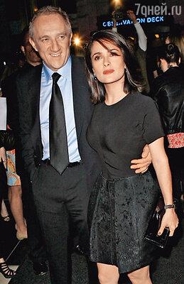 Сальма с мужем Франсуа-Анри Пино
