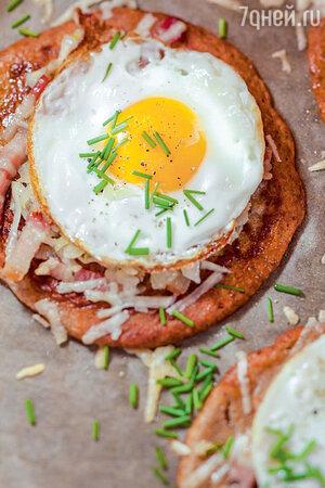 Гречневые галеты с яйцом