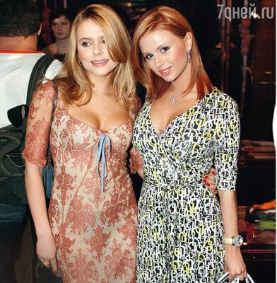 Ксения Новикова и Анна Семенович